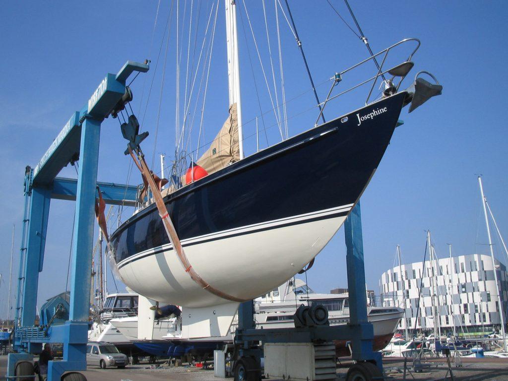 Ipswich Yard At Harbour Marine Services